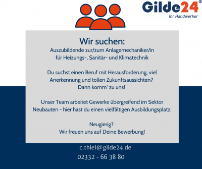 Stellenausschreibung Gilde24
